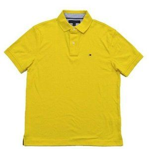 Tommy Hilfiger Custom Fit Interlock Yellow Polo